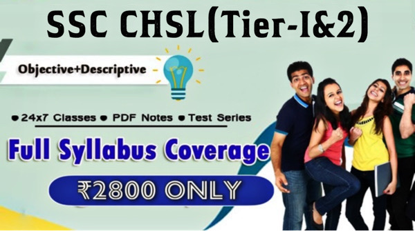 SSC CHSL(Complete Course)