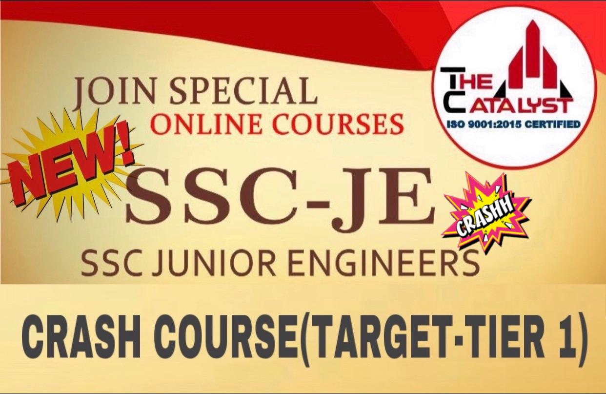 SSC JE Crash Course(ME)-2019