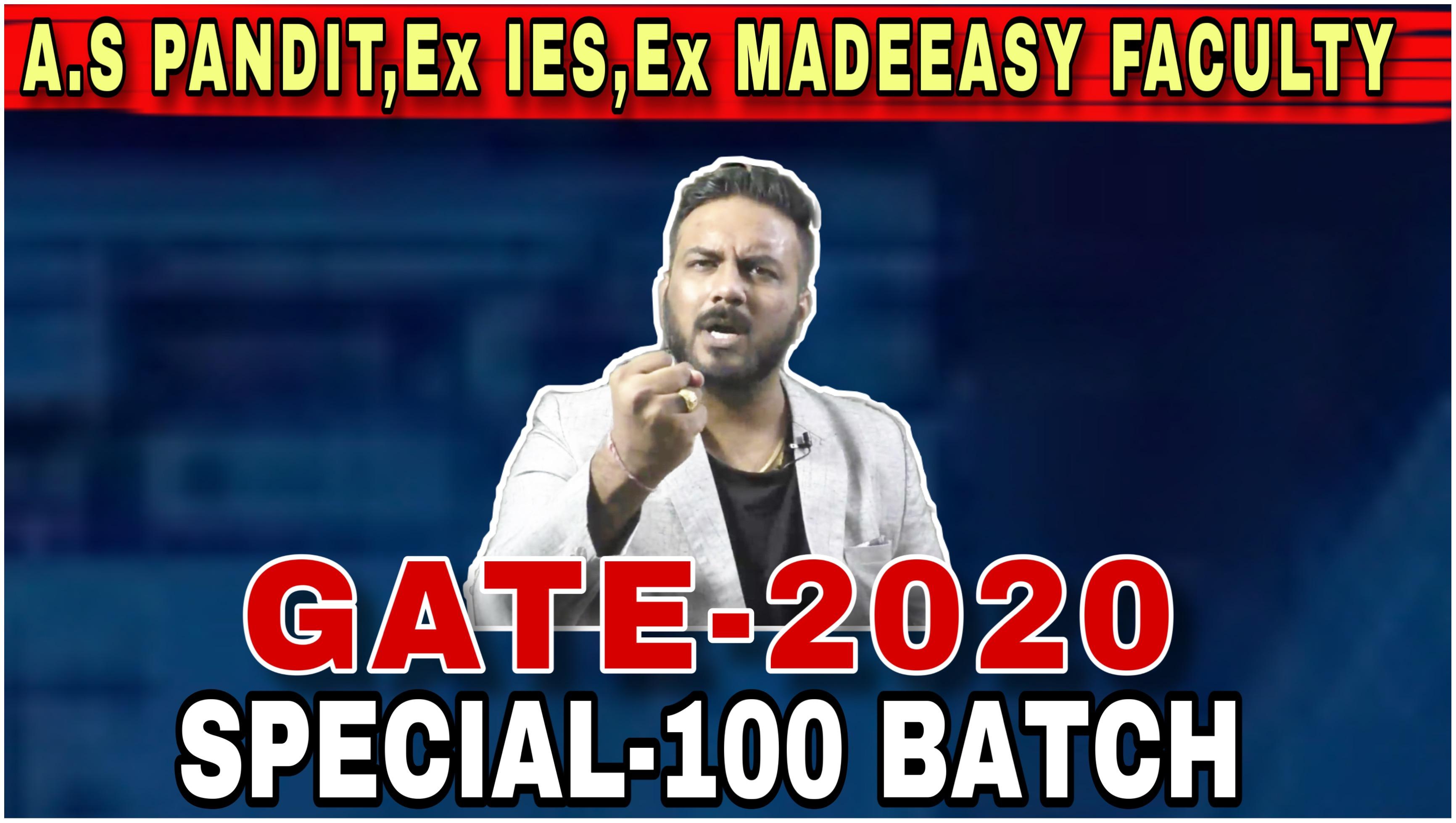 GATE-2020(CIVIL)@ Jaipur