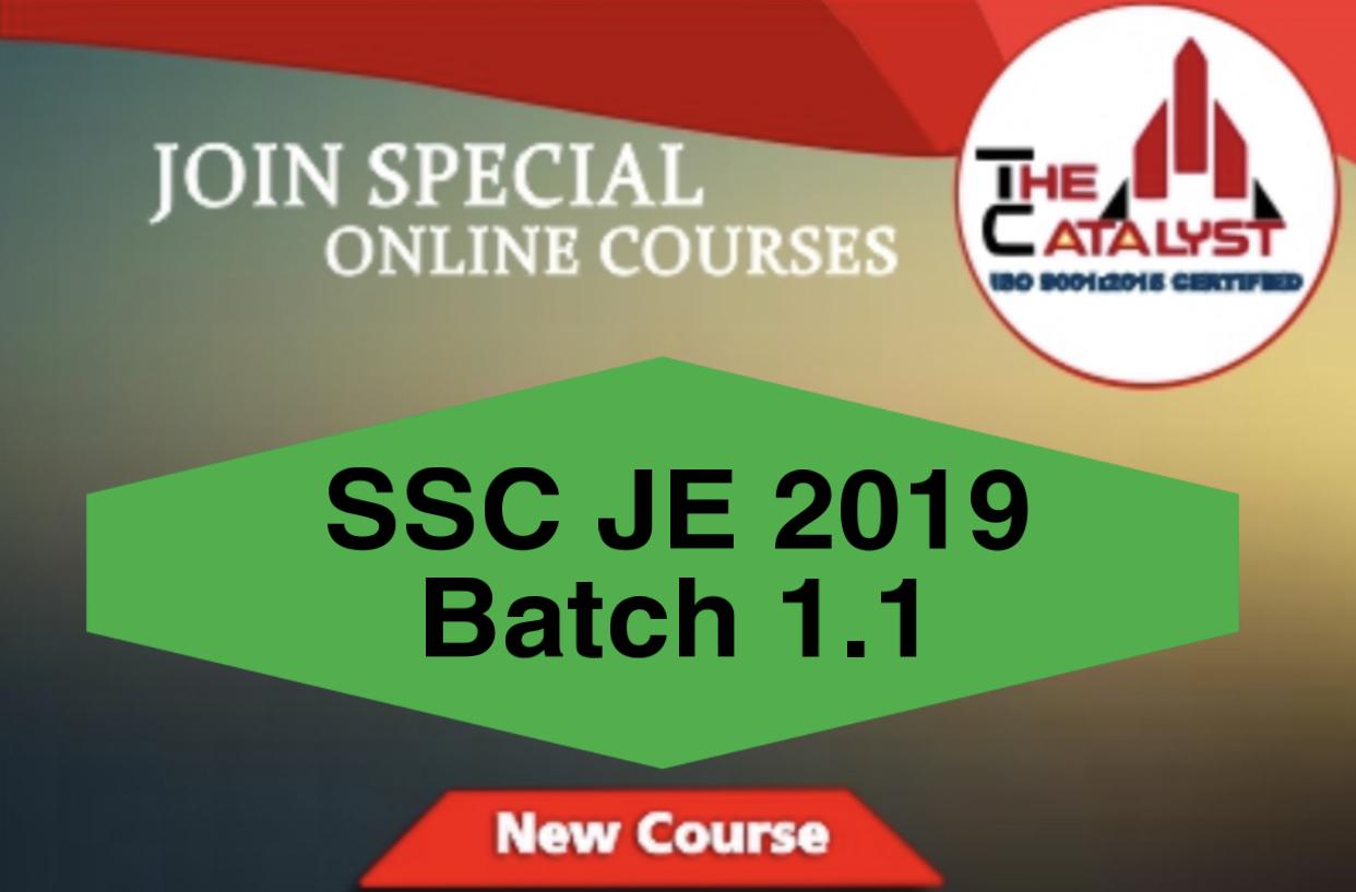 SSC JE 1.1(ME)