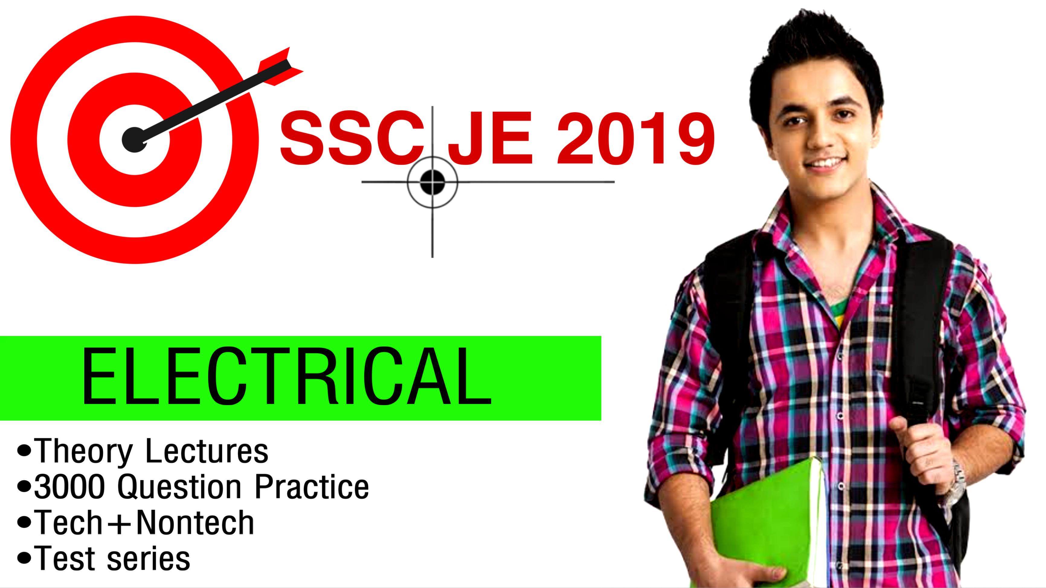 TARGET SSC JE-2019(EE)