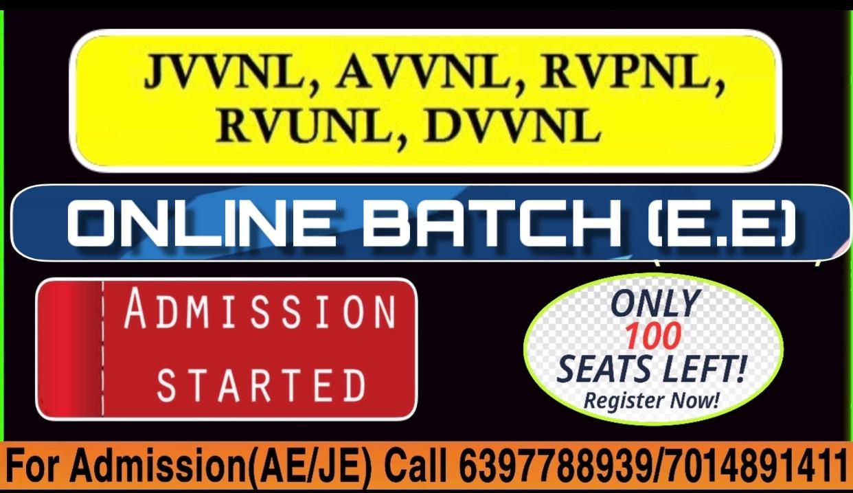 RSEB/RVUNL JE/AE Full Course-EE
