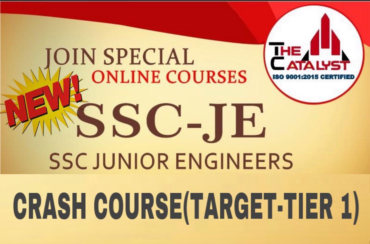 SSC JE 2018 TIER-1 CRASH COURSE