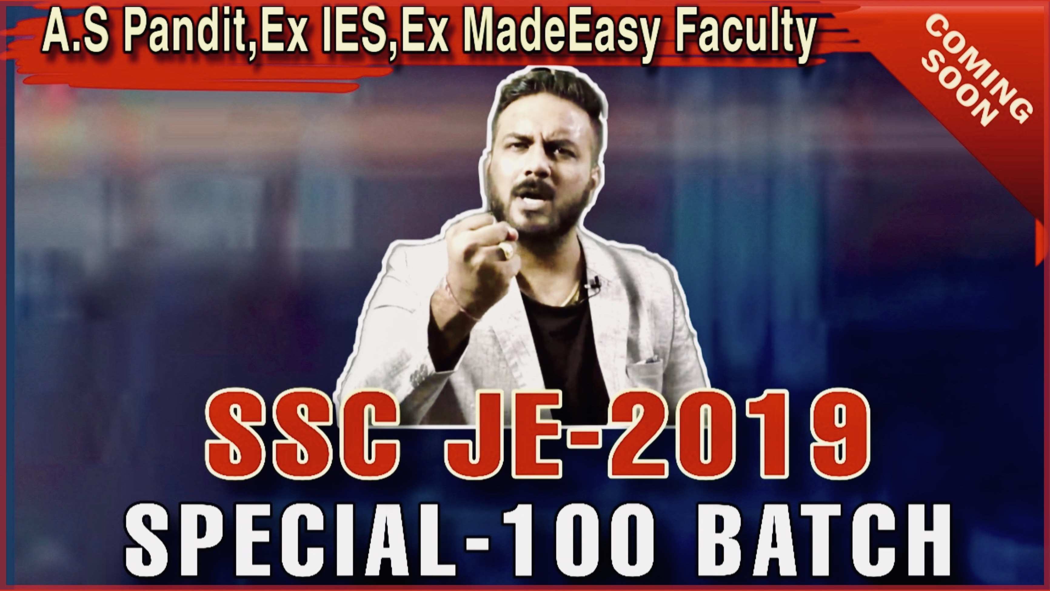 SSC JE @ JAIPUR(100 seats Only)