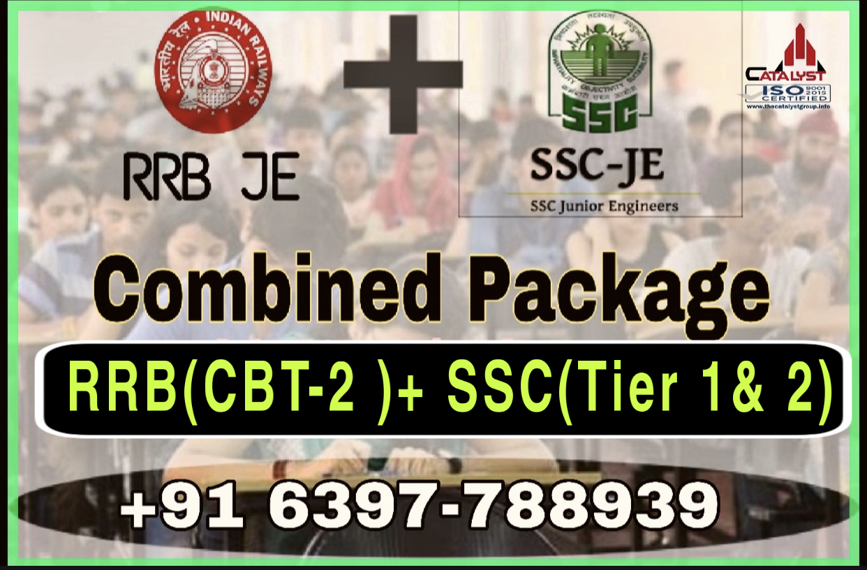 RRB(CBT-2) and SSC JE(Combined)-CIVIL