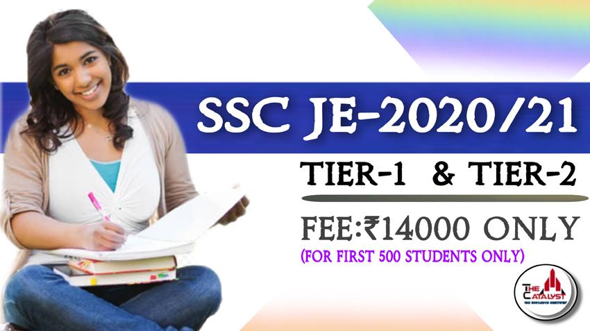 SSC JE-2020/21(Civil New Batch)