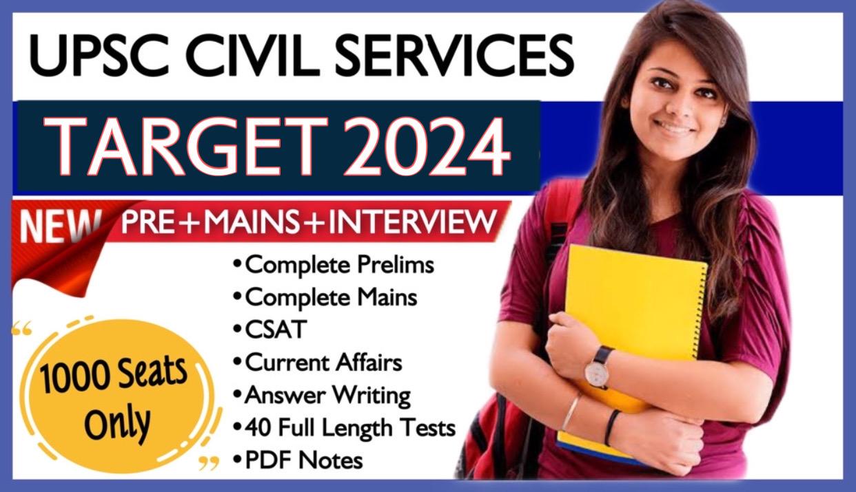 Foundation UPSC IAS 2024/25