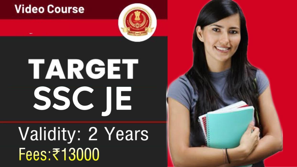 SSC JE New Batch(Civil Engineering)
