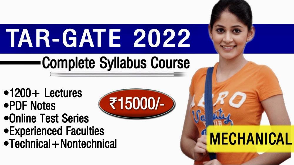 Target GATE-2022(ME)